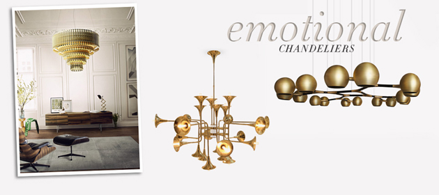 Emotional Chandeliers by Demorais International