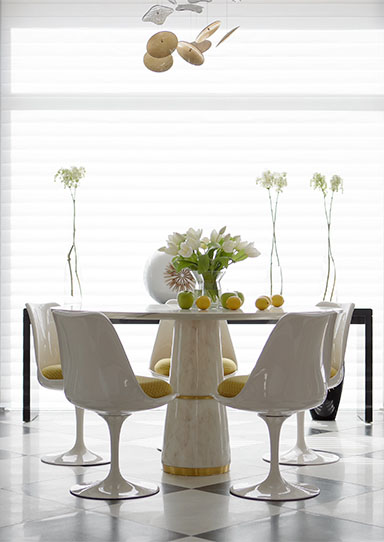 AGRA DINING TABLE by Brabbu