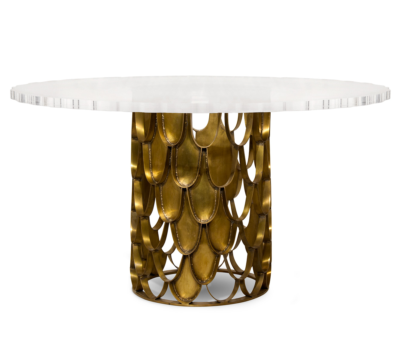 KOI Dining Table by BRABBU  DEMORAIS INTERNATIONAL