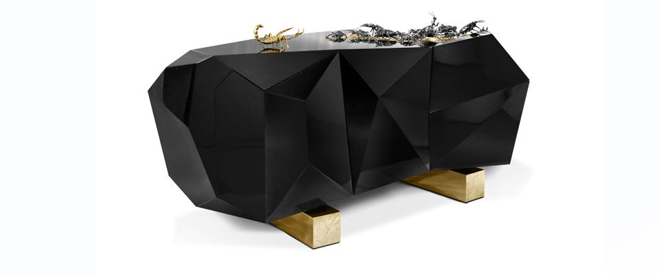 Diamond Metamorphosis Sideboard by Boca Do Lobo | DEMORAIS INTERNATIONAL