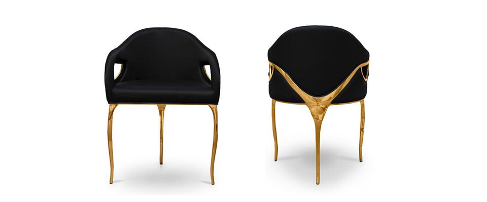 Chandra dining chair by koket demorais international