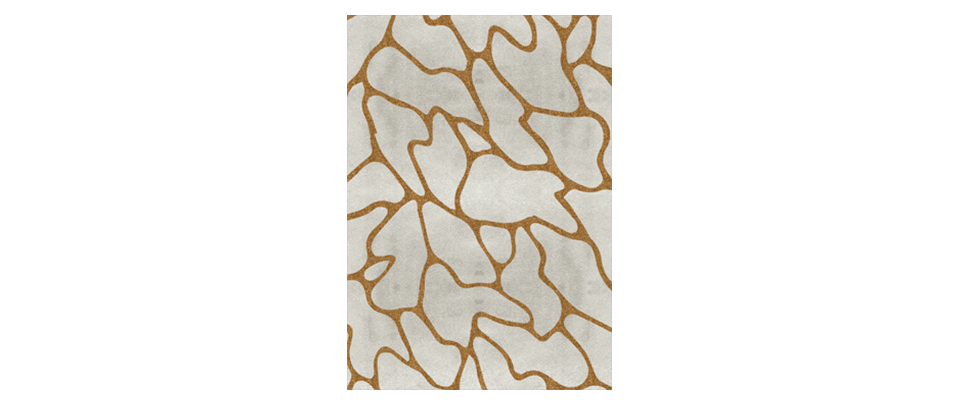 Cell Gold Rug by Rug'Society | DEMORAIS