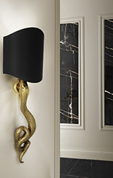 SERPENTINE SCONCE by Koket