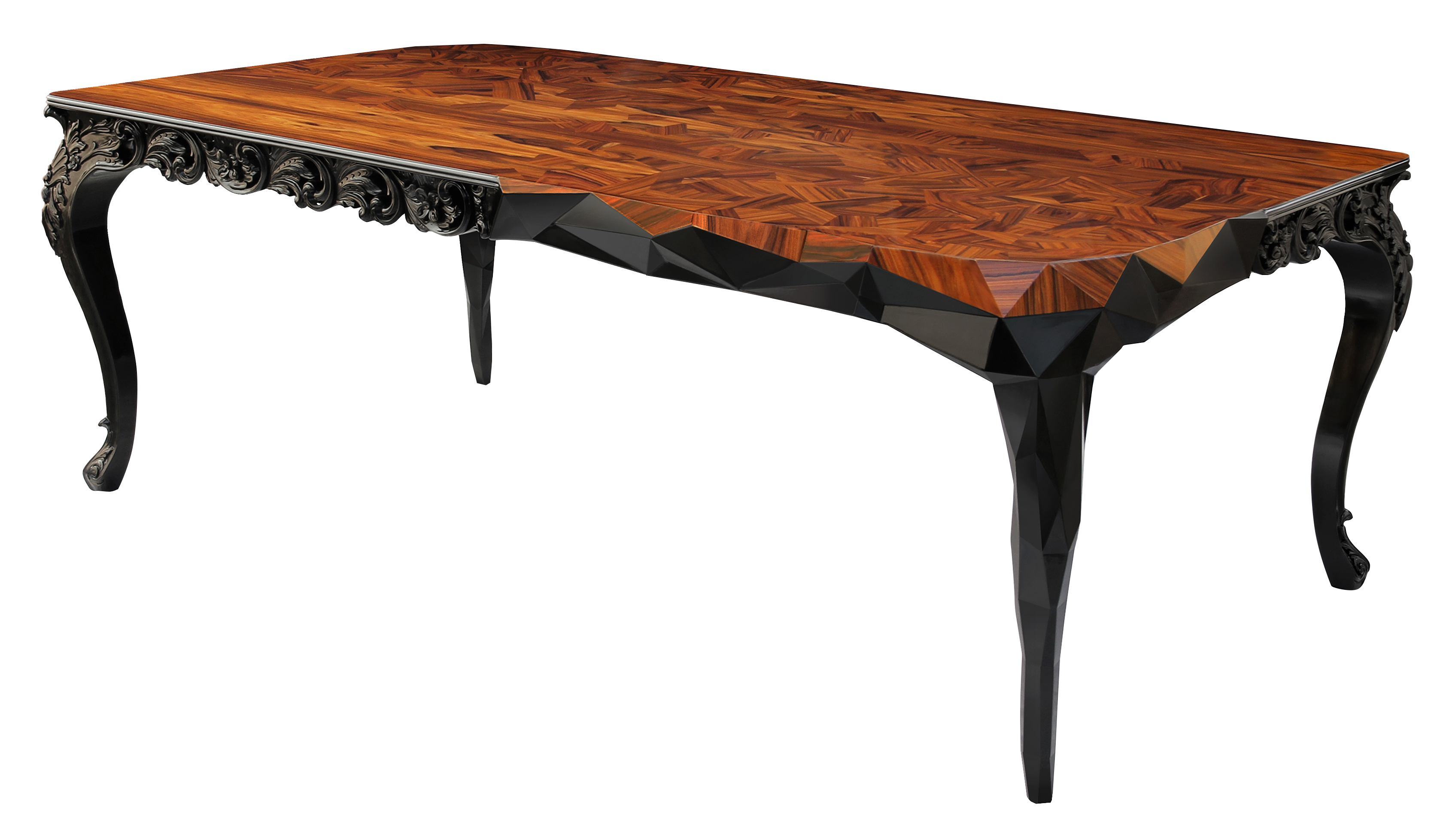 royal dining table by boca do lobo demorais international