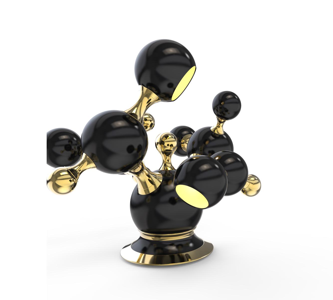 ATOMIC TABLE LAMP By DELIGHTFULL DEMORAIS INTERNATIONAL